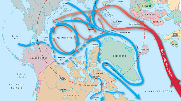 Arctic ocean circulation woods hole oceanographic institution arctic ocean circulation gumiabroncs Images