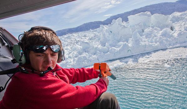 East Greenland Glacier