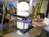 Assembly of the ceramic housing for the new HROV.