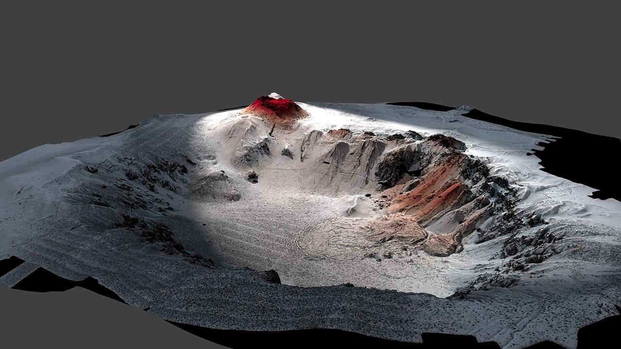 Havre volcano