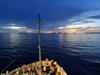 Sunset at Woleai Atoll