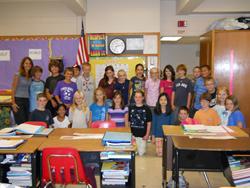 Mrs. Buscher's class.