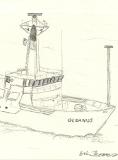 Drawing of Oceanus by Erin Thomas