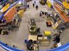 Polar Continental Shelf Project warehouse full of equipment.