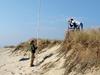 Dune and beach profiling on Nantucket.
