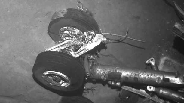 Landing gear from Air France Flight 447