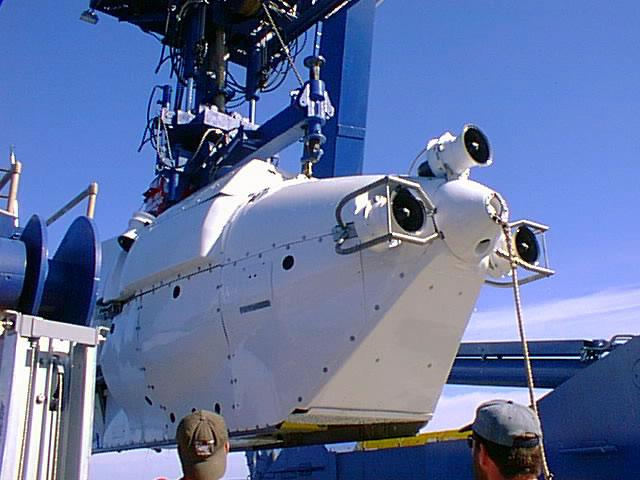 Beginning sea trials off Bermuda