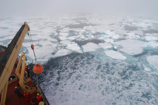 Canadian Coast Guard Icebreaker Louis St-Laurent