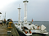 Cousteau's ship visits Woods Hole