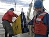 Brian Kidd, Will Ostrom and Glen Gawarkiewicz recover the Scanfish