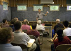 gfd lectures in Walsh Cottage