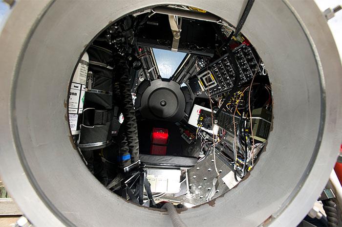 DEEPSEA CHALLENGER simulator sphere