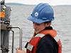 Lily Helfrich, SSF, deploys CTD