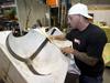 Repairing syntactic foam