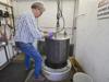 Pressure testing Alvin foam