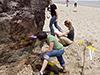 Cape Cod sediment sampling