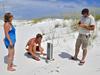 Wind-blown sediment traps
