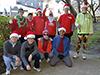 Jingle bell joggers