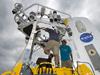 technicians prepare buoy for SPURS cruise