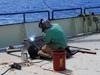 Dredge repairs