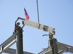 LOSOS topping out