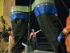 Bongo nets from USCG Healy