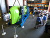 Deepsea Challenger on display