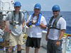 WHOI team in the Gulf of Mexico