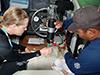 Ocean acidification experiment