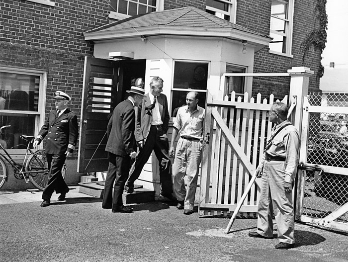 security gate installed during World War II
