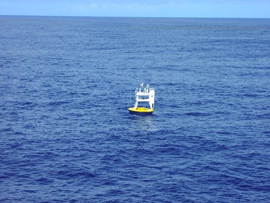 NTAS buoy alone in the Atlantic