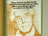 Scientist Emeritus George Frisk's office poster.