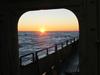 R/V Oceanus sunset during cruise OC433.