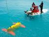 Sentry meets Alvin during testing off Bermuda.