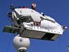 crane lifting DSV Alvin onto R/V Atlantis