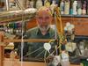 Al Bradley in his lab