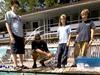 Rick Rupan instructing students in ROV piloting.