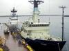 R/V Oceanus and R/V Endeavor together at Iselin Pier