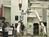 Multi-tasking onboard R/V Knorr.