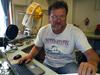 Rick Krishfield tests the Arctic Winch.