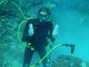 Coral core drilling