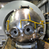 sphere in test facility