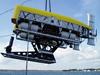 Nereus HROV undergoing dock testing.