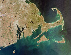 Since 1969, three major oil spills have washed up within three miles of each other along the west coast of Cape Cod