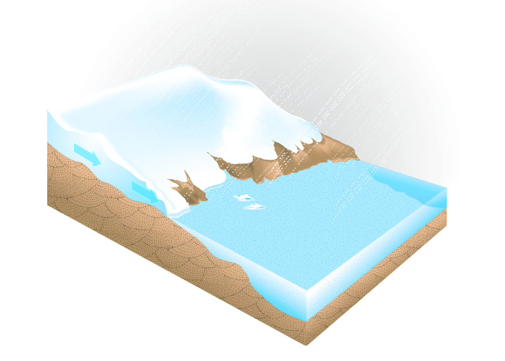 An Ice Sheet's 'Plumbing System'