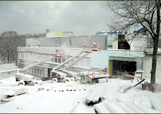 MRF under construction
