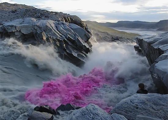 Greenland glaciers, summer 2012