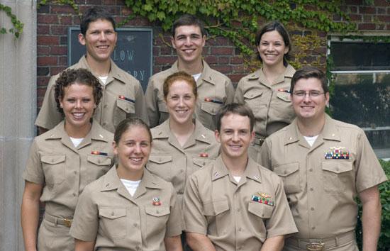 naval graduate students