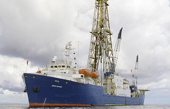 A Sea Change in Ocean Drilling