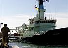 R/V Oceanus Departure